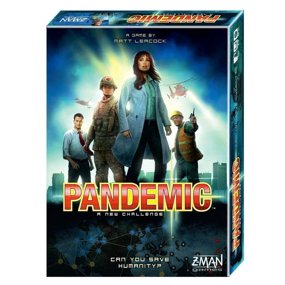 The Pandemic Cooperative Board Game Trò chơi Pandemic bản tiếng anh boardgame card game