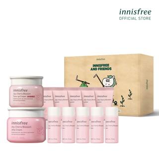 [Mã COSINNI5 giảm 10% đơn 350K] Bộ sản phẩm dưỡng sáng và dưỡng ẩm da innisfree Jeju Cherry Blossom Cream Set thumbnail