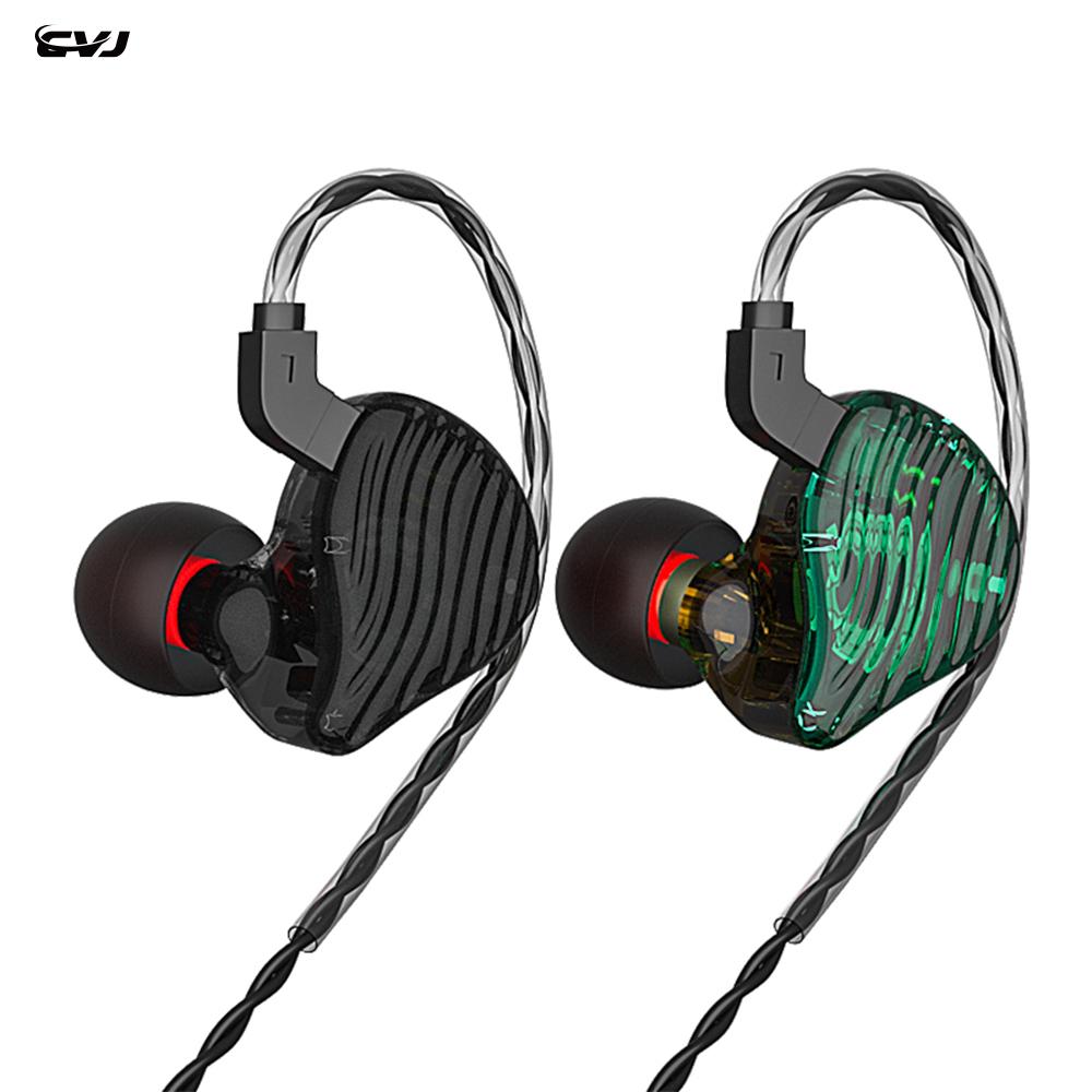 CVJ CSE 2BA+1DD Hybrid 4 Cores Driver HIFI In Ear Monitor Earphone with 2PIN 0.75MM Connector KZ ZSX ZS10PRO BLON BL03 BL05 BA5