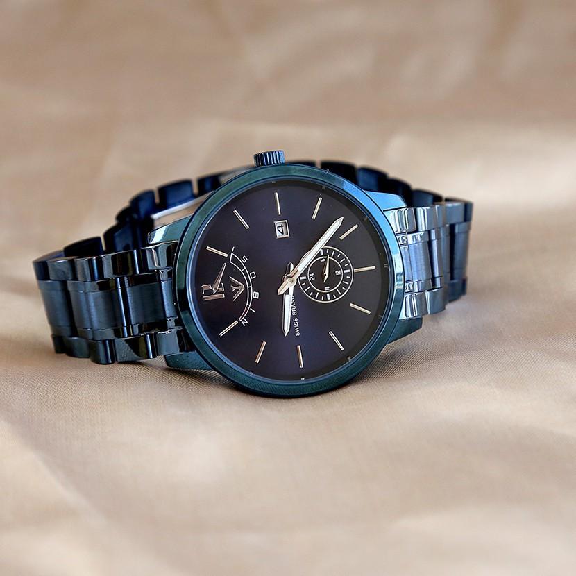 [Tặng vòng tay]Đồng hồ nam NIBOSI chính hãng NI2318.09 dây thép không gỉ