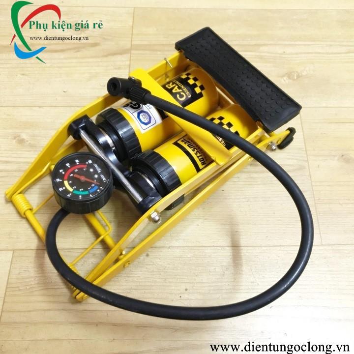 Bơm Đa Năng 2 Ống Dùng Chân High Pressure Foot Pump - 2769433 , 1081129319 , 322_1081129319 , 207000 , Bom-Da-Nang-2-Ong-Dung-Chan-High-Pressure-Foot-Pump-322_1081129319 , shopee.vn , Bơm Đa Năng 2 Ống Dùng Chân High Pressure Foot Pump