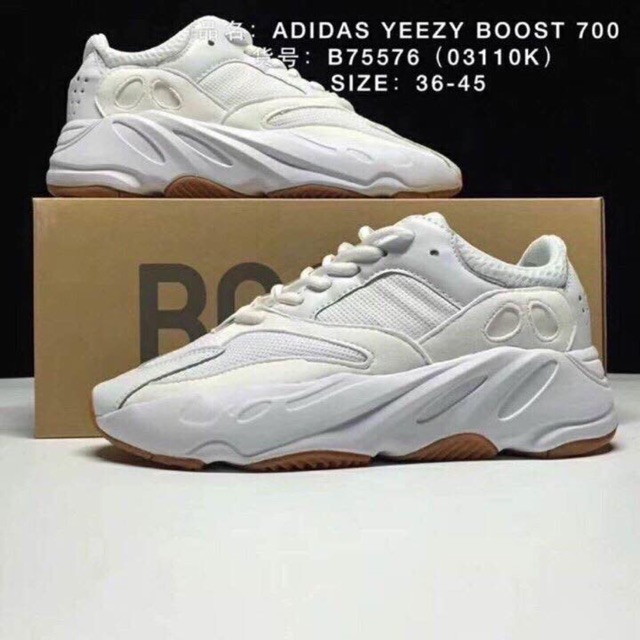4fd0a0dc439ef Giày ADIDAS YEEZY BOOST 700 WAVE RUNNER WHITE