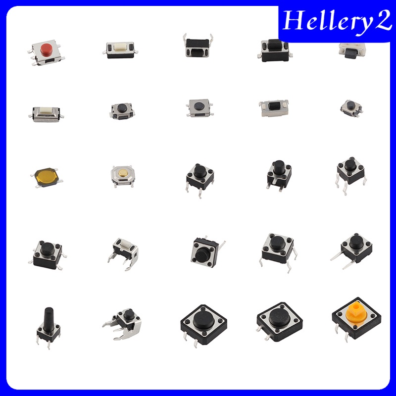 2 Nút Nhấn Microswitch Cho Máy Ghi Hình Điện Tử