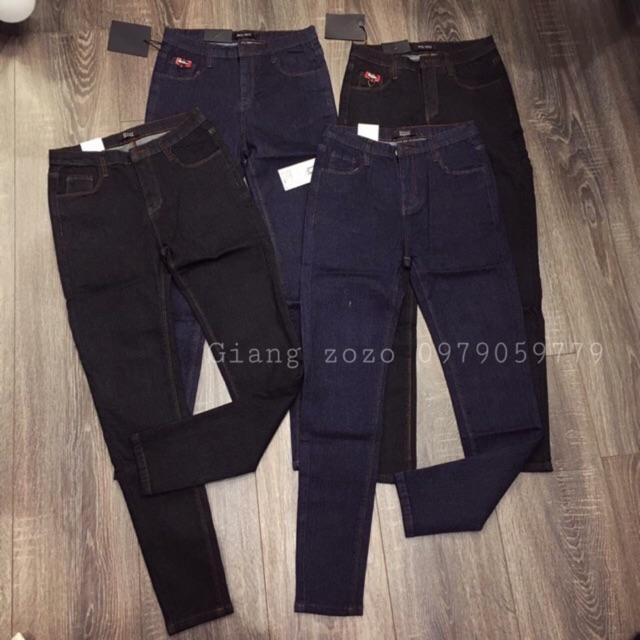 Combo 2 quần Jean chỉ nổi, chỉ chìm