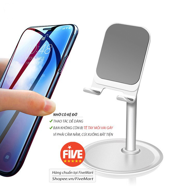 [FREESHIP] Giá đỡ điện thoại K1 Desktop Support loại mới - chân đế chắc chắn - để được nhiều loại điện thoại