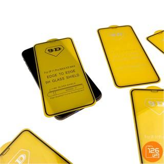 Miếng dán cường lực 9D Full màn hình dành cho iPhone 6 / 6s / 7 / 8 / X / Xr / Xs / Xsmax / 11 / 11 pro / 11 pro max