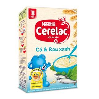 Bột ăn dặm Nestle Cerelac - Cá và rau xanh (200gr) thumbnail