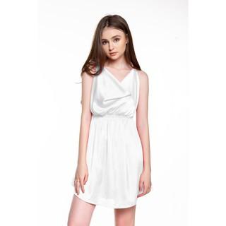 Dreamy VX06 Váy ngủ lụa cao cấp hai dây cổ đổ vô cùng thu hút thumbnail