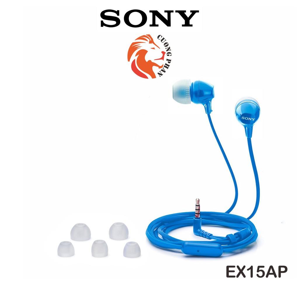 Tai Nghe In-Ear Nhét Tai Có Mic Sony EX15AP  Chính Hãng Sony Việt Nam  Bảo Hành 12 Tháng Toàn Quốc