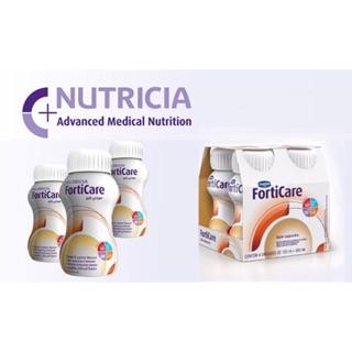 Sữa Nước Nutricia FortiCare vị Cam /Capuccino (Vỉ 4 chai x125ml)