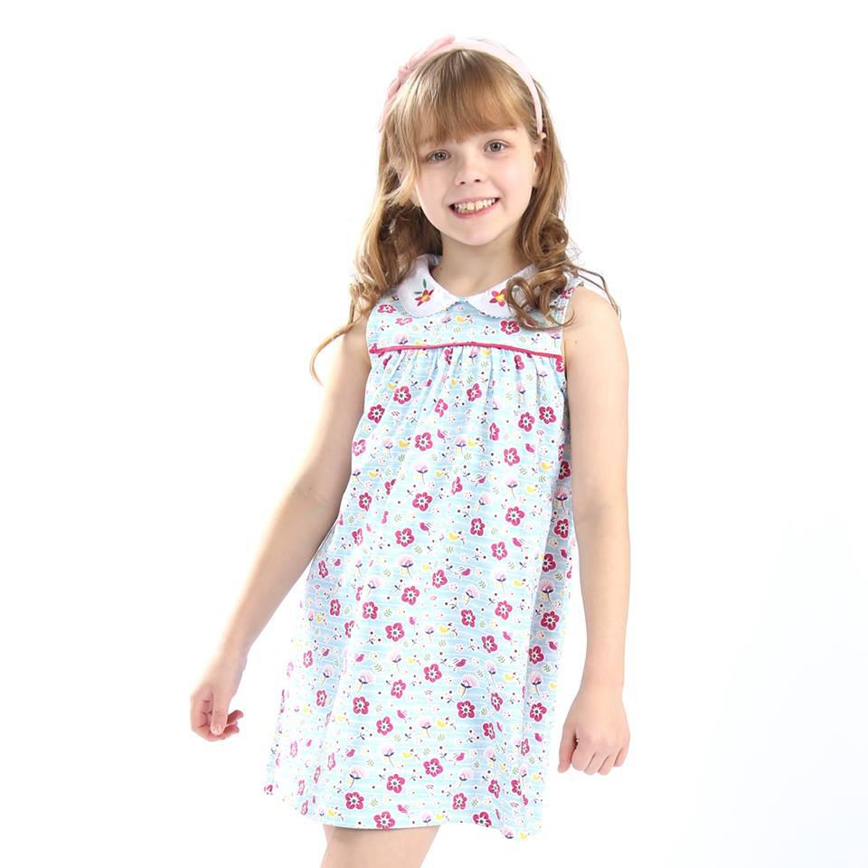 Váy trẻ em xuất khẩu 2018