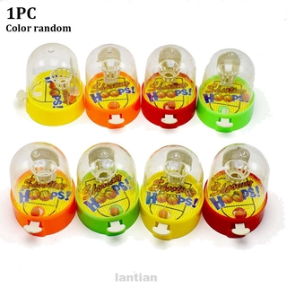 Cute Desktop Funny Handheld Mini Pressure Release Random Color Finger Basketball Toy