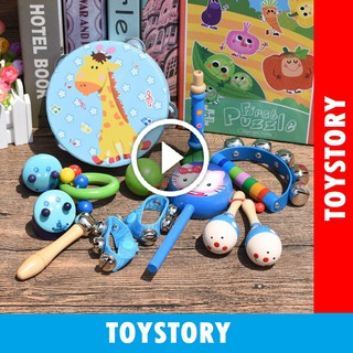 [ToyStory] Bộ Cảm Thụ Âm Nhạc Cho Bé Từ Sơ Sinh – Bộ Đồ Chơi 13 Chi Tiết Cho Bé Từ 0 Tháng Tuổi