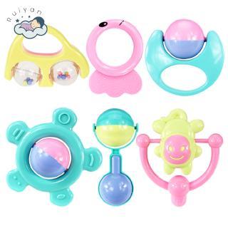 Set 6 đồ chơi âm nhạc cầm tay hỗ trợ giáo dục cho bé