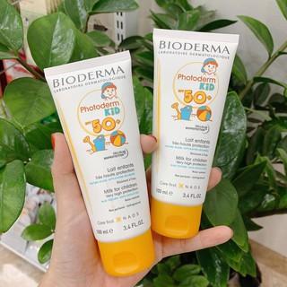 Kem Chống Nắng Bioderma Photoderm Kid - Kem Chống Nắng Cho Bé Pháp 100ML - myphamchinhhangladycare thumbnail