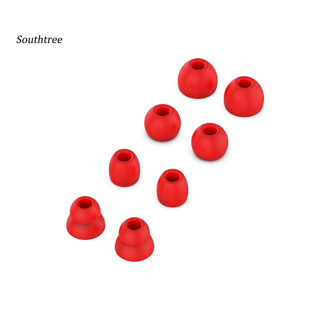 Set 8 Nút Silicone Bọc Tai Nghe Nhét Tai Chuyên Dụng Cho Powerbeat Pro/3