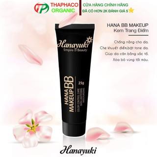 Kem Trang Điểm Hanayuki Hana BB Makeup  Kem trang điểm dưỡng da chống nắng Hana BB Makeup vừa trang điểm vừa dưỡng da