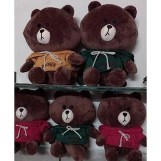 Gấu Brow áo mũ nỉ xịn size to