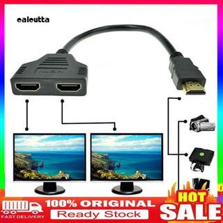 Cáp chuyển đổi đầu cắm HDMI sang 2 cổng cắm độ phân giải 1080P