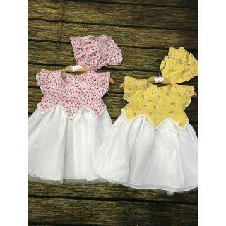 Combo  váy + bộ+ 5 quần chip cho bé