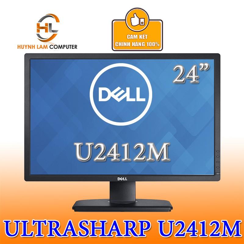 [Mã ELCL2MIL giảm 7% đơn 2TR] Màn hình máy tính Dell 24 inch Ultrasharp U2412M chính hãng phân phối