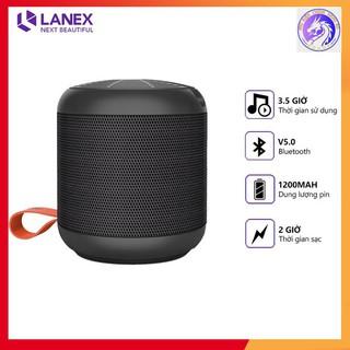 Loa Bluetooth LANEX LSK - W05 V5.0 Âm Nhạc Sống Động Pin Trâu Có Giá Đỡ Tương Thích Nhiều Thiết Bị