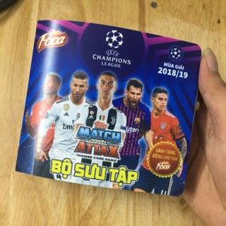 Album Poca Match Attax UCL 2018/2019 mới 100%