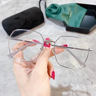 Square Frame Glasses Unisex Fashion Accessories Ready StockJZ2133