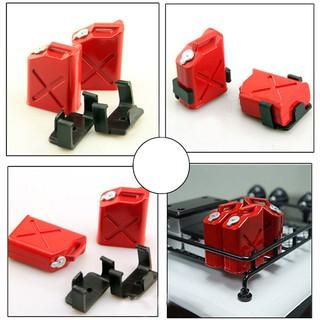 1 Pair rc car mini fuel tank decoration tools for 1:10 rc rock crawler