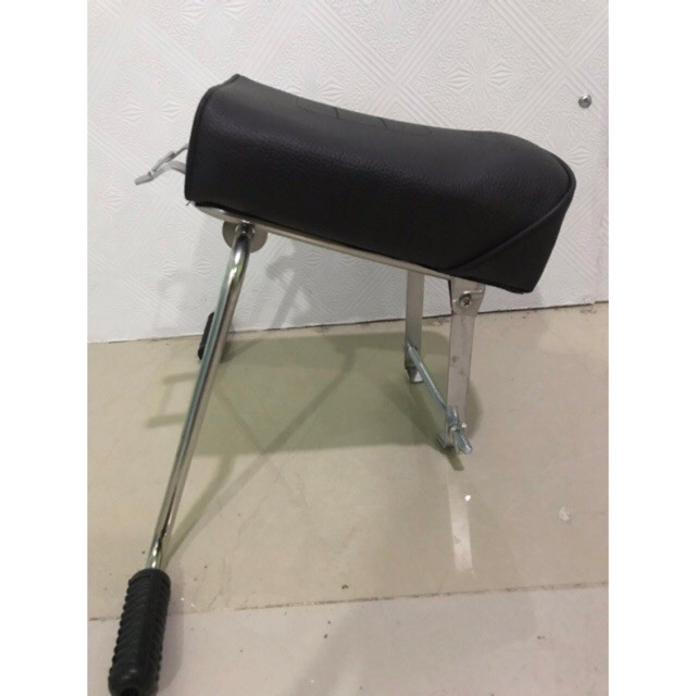 💖 Ghế ngồi xe máy 💖 Xe Số, Yên Nệm, Không Tựa,Có Gác Chân,An Toàn Cho Bé