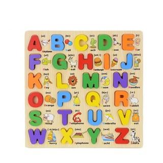Combo 02 bảng học chữ cái và số