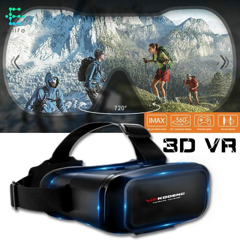 HA KODENG VR Headset Glasses 3D VR Glasses Movies Universal