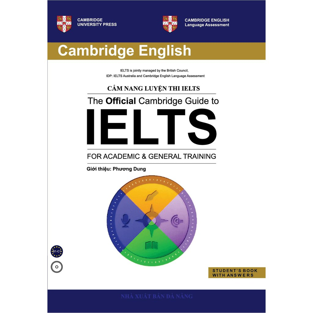 Sách - Cẩm Nang Luyện Thi IELTS (The Official Cambridge Guide To IELTS - For Academic & General Training)