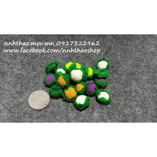 Minifood trang trí mô hình_Bông cải