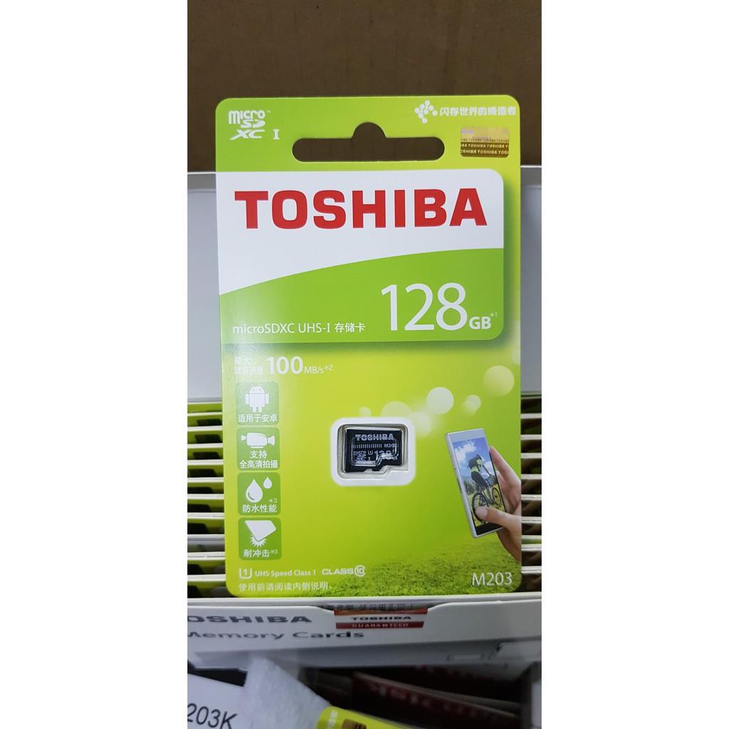 Thẻ nhớ microSDXC Toshiba M203 128GB (100MB/s)