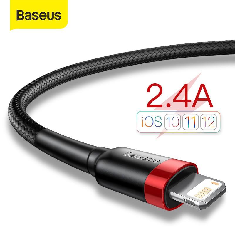 Cáp sạc Baseus cổng Lightning chính hãng chuyên dụng cho thiết bị Apple