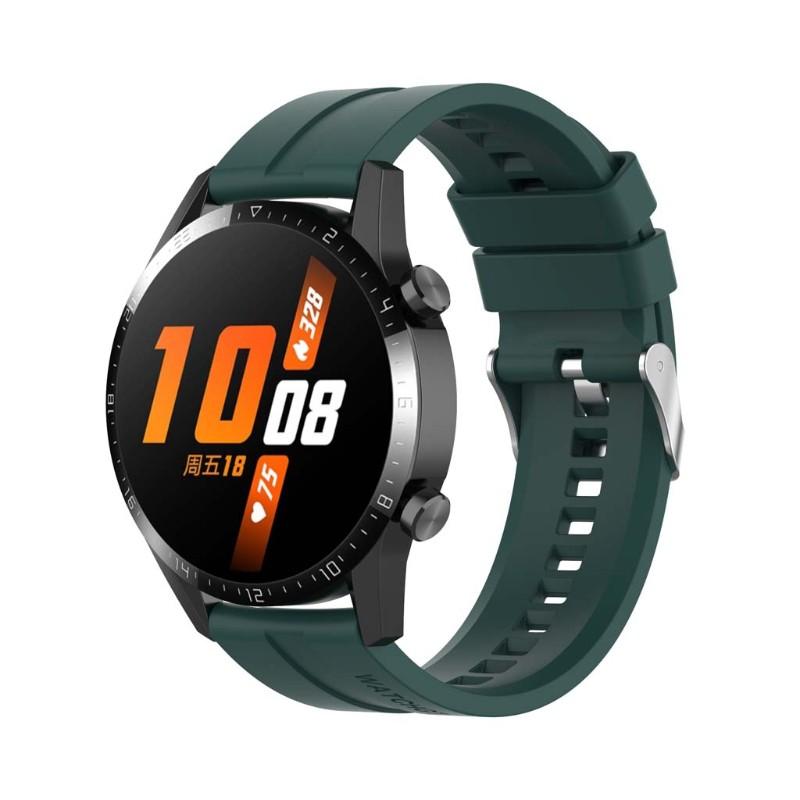 Dây Đeo Silicon Cho Đồng Hồ Thông Minh Huawei Gt2 / - Samsung - Galaxywatch3 / - Amazfitgtr 18mm