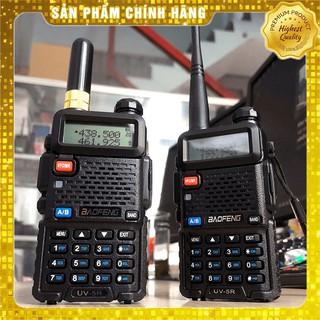 [HÀNG CHÍNH HÃNG] Bộ đàm kỹ thuật số cao cấp Baofeng UV-5R. Nghe đài FM, báo động khẩn cấp, đèn pin, 2 băng tần UHF VHF thumbnail