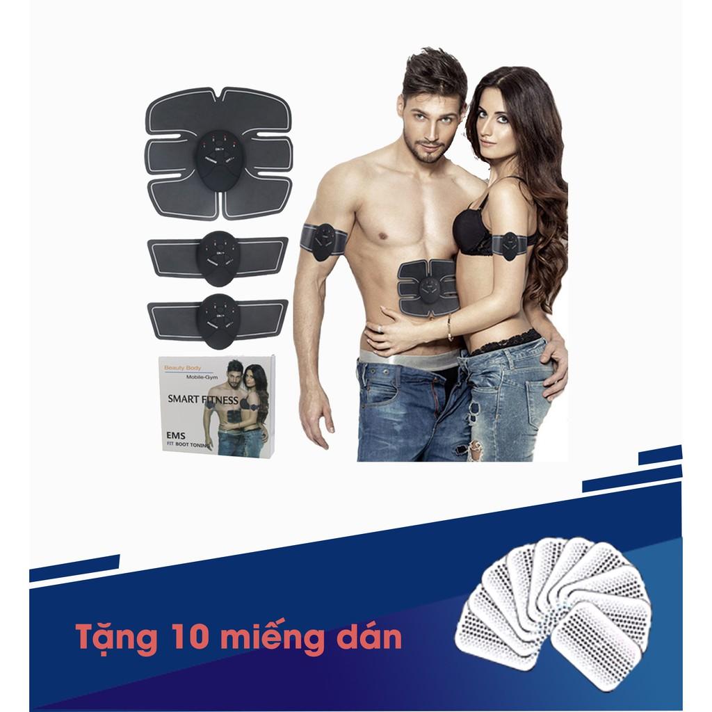 Không còn nỗi lo vóc dáng: Bộ massage bằng xung điện từ [TẶNG 10 MIẾNG KEO DÁN]