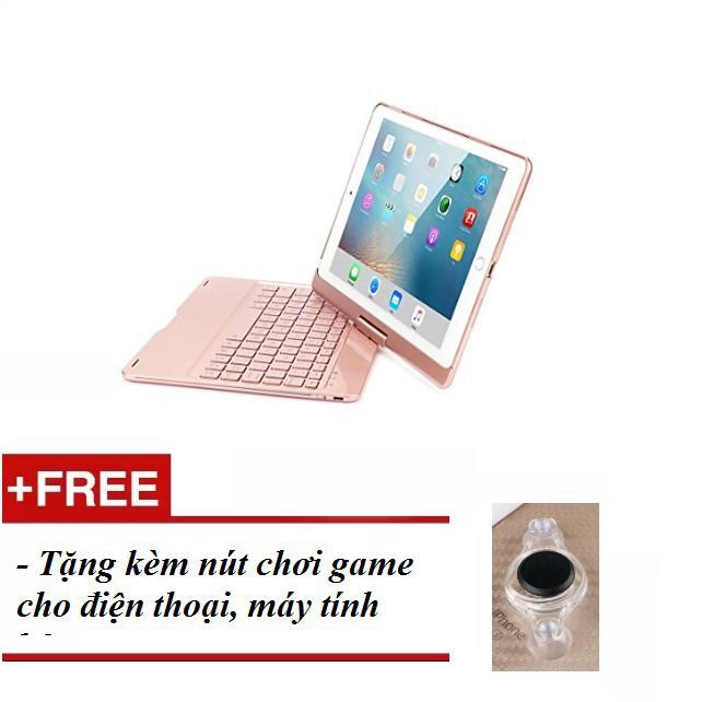 Bàn phím Bluetooth không dây cao cấp cho Ipad Pro 10.5(Màu Rose Gold) - Tặng kèm hấp dẫn Giá rẻ
