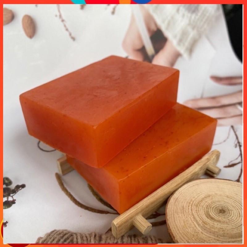 Xà Bông Bồ Hòn Hanmade Saffron-Hoa Hồng_130gr
