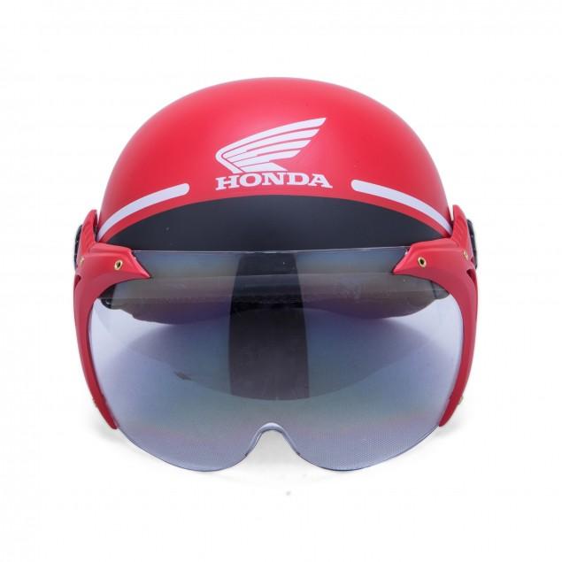 Mũ bảo hiểm Honda nửa đầu có kính chính hãng - 3430603 , 650934414 , 322_650934414 , 330000 , Mu-bao-hiem-Honda-nua-dau-co-kinh-chinh-hang-322_650934414 , shopee.vn , Mũ bảo hiểm Honda nửa đầu có kính chính hãng