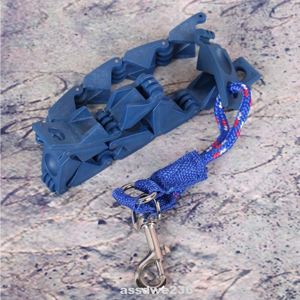Adjustable Leash Neck Pet Supplies ABS Flexible Link High Strength Training Dog Collar