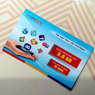 Combo 300 thẻ data 3G Mobifone loại 2,8Gb