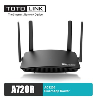 Bộ Phát Wifi Totolink A720R Chuẩn AC1200Mbps 4 Râu Xuyên Tường -Hàng Chính Hãng 2021 thumbnail