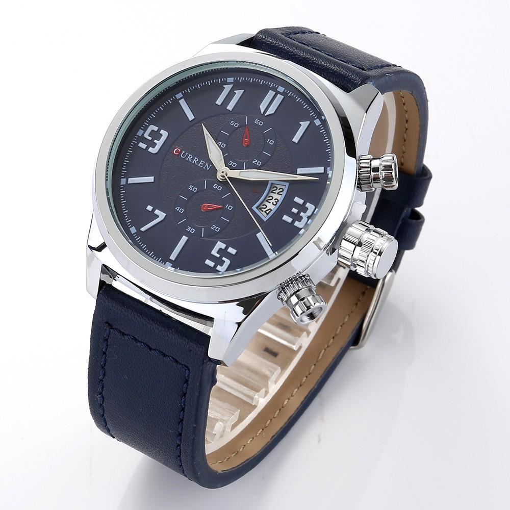 Đồng hồ nam thương hiệu CURREN dây da cao cấp mã DHC820