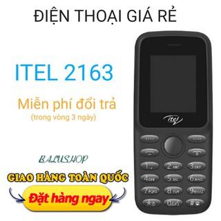 điện thoại giá rẻ dành cho người già Itel 2613 (2 sim) kèm pin, sạc thumbnail