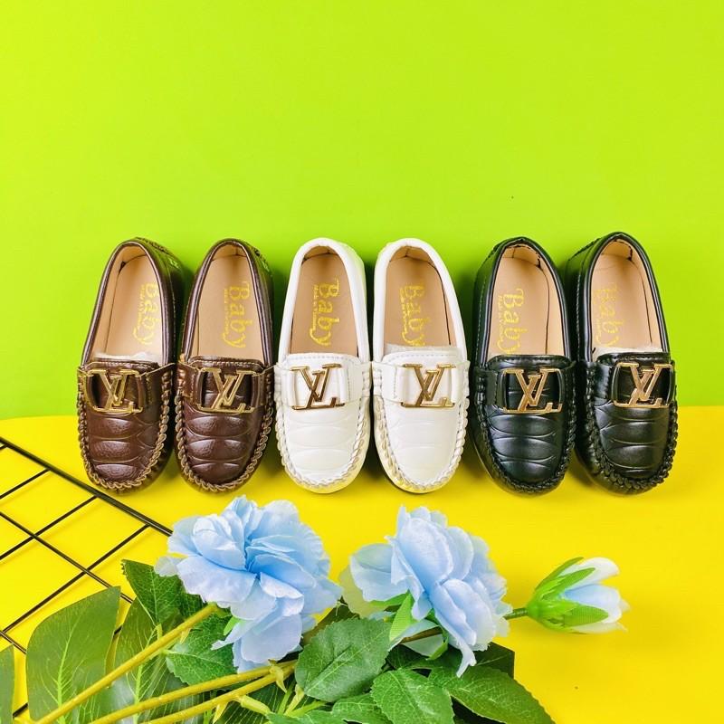 Giày lười bé trai cao cấp-VL
