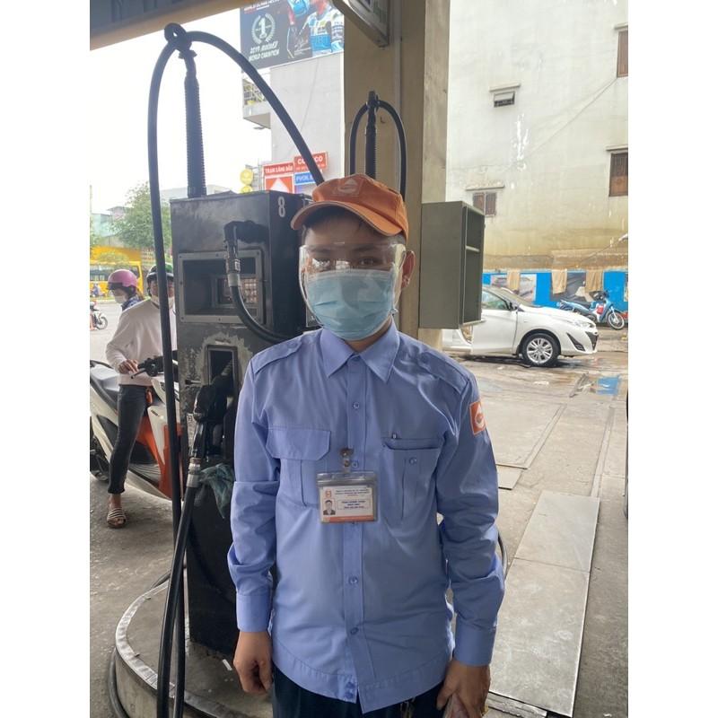 GIAO NGAY NOWSHIP   cải tiến mới 2021 mặt nạ bảo hộ kháng khuẩn phòng dịch kính bảo vệ mắt chống giọt bắn