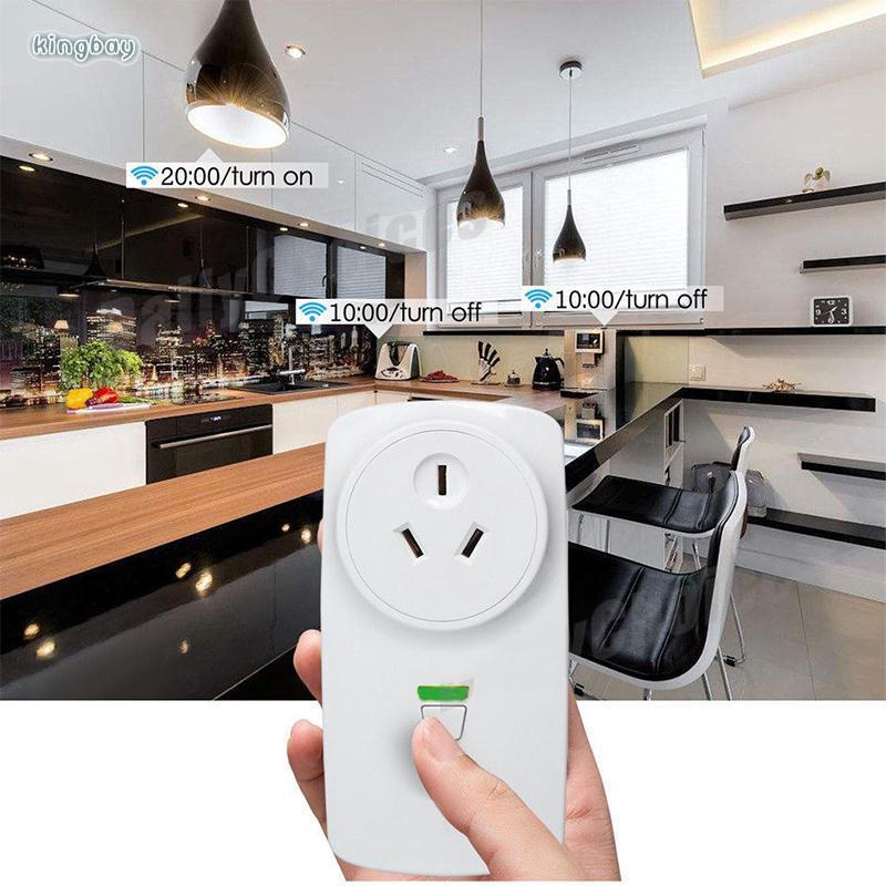 King Ewelink Wireless Switch Outlet WIFI Smart Plug CE